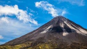 Arenal wulkanu szczyt Obraz Royalty Free