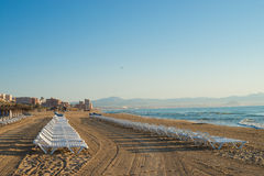 Arenales beach Stock Images