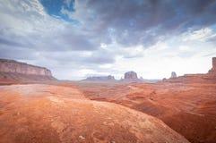 Arenaria di colorado del canyon del monumento della valle Fotografie Stock
