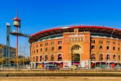 Arenas Barcelona Building, Barcelona, Spain royalty free stock photo