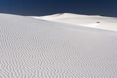 Arenas blancas de New México Imagen de archivo