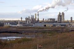 Arenas de aceite, Alberta, Canadá Imagen de archivo libre de regalías
