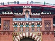 Arenas de Barcelona Bullring Royalty Free Stock Images