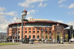 Arenas De Barcelona royalty free stock photos
