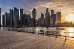 Arenas de la bahía del puerto deportivo, Singapur imágenes de archivo libres de regalías
