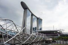 Arenas de la bahía del puerto deportivo, Singapur foto de archivo libre de regalías