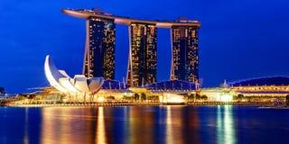 Arenas de la bahía del puerto deportivo, Singapur Fotos de archivo libres de regalías