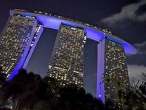 Arenas de la bah?a del puerto deportivo, Singapur foto de archivo