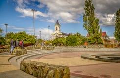 Arenas de Punta, o Chile imagens de stock