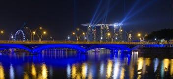 Arenas del parque de Marina Bay Imagen de archivo
