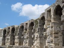 Arene di Arles in Provenza Fotografie Stock