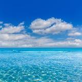 Arenes ES Trenc Majorca ses παραλία σε κάτοικο των Βαλεαρίδων νήσων Στοκ Εικόνες