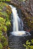Arengsky Falls. Arengsky waterfall. Arenga River, Kola Peninsula. Russia royalty free stock photography