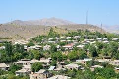 Arenidorp in Armenië royalty-vrije stock foto