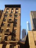 Arenisca de color oscuro de Nueva York Imágenes de archivo libres de regalías