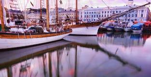 Arenques bálticos de Helsinki justos Fotografía de archivo