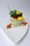 Arenques com caviar Báltico Imagem de Stock