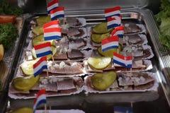 Arenques holandeses imagens de stock