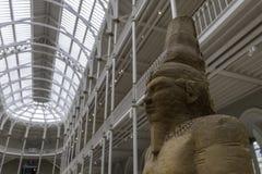 Arensnuphis-Statue in der großartigen Galerie im Nationalmuseum von Schottland lizenzfreies stockbild