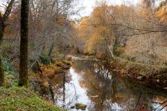 Arenteiro-Fluss Stockbild
