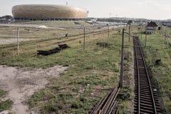 Areny bałtycki Stadium Zdjęcia Stock