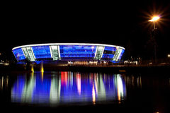 areny donbass stadium obraz stock