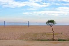 Arenys de Mar παραλία, Ισπανία Στοκ εικόνα με δικαίωμα ελεύθερης χρήσης