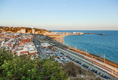 Arenys de Mar Royalty Free Stock Photo