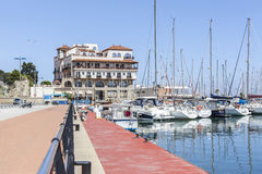 Arenys de Mar,Catalonia,Spain. Royalty Free Stock Image