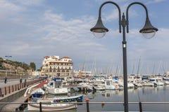 Arenys de Mar,Catalonia,Spain. Stock Photos