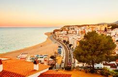 Arenys de Mar Stock Image