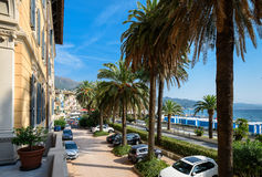 Arenzano is a coastal town and comune in the province of Genoa, Stock Photos