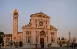 Arenzano sanktuarium kościół niemowlak Jezus Praga obrazy stock