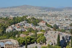 Areopagus στην Αθήνα Στοκ φωτογραφίες με δικαίωμα ελεύθερης χρήσης