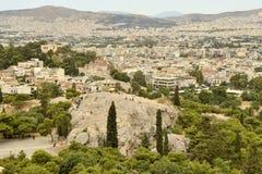 Areopagus Στοκ φωτογραφία με δικαίωμα ελεύθερης χρήσης