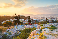 Areopagus Hill Royalty Free Stock Photography