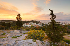 Areopagus Hill Royalty Free Stock Photo