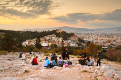 Areopagus Hill Royalty Free Stock Photos