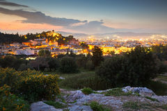 Areopagus Hill Stock Photo