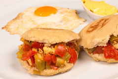 Arepa reina Stock Photos