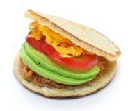 Arepas, της Βενεζουέλας κολομβιανά τρόφιμα Στοκ Εικόνες