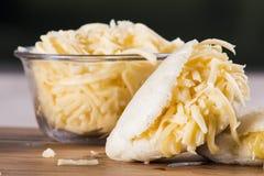 Arepas-Mahlzeit lizenzfreies stockbild