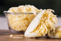 Arepas meal Royalty Free Stock Image