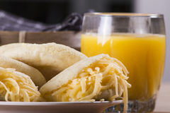 Arepas meal Royalty Free Stock Photo