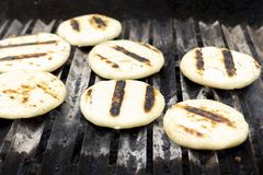 Arepas, typical Venezuelan and Colombian food