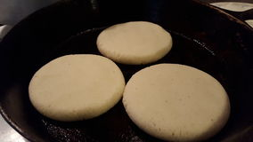 Arepas, Venezuela tipical food Royalty Free Stock Images