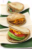 Arepas, venezuelan colombian food Stock Images