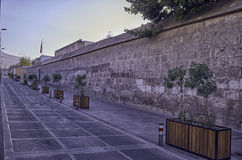 Arequipa, αρχιτεκτονικά μνημεία Στοκ Εικόνες