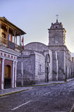 Arequipa, αρχιτεκτονικά μνημεία Στοκ φωτογραφίες με δικαίωμα ελεύθερης χρήσης