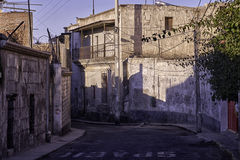 Arequipa, αρχιτεκτονικά μνημεία Στοκ Φωτογραφίες